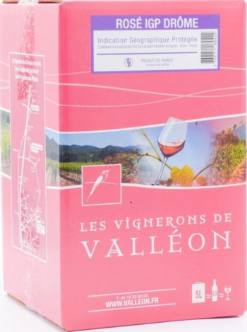 IGP Drôme Rosé 10L