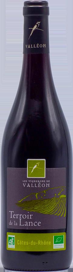 Terroir de la Lance BIO Côtes du Rhône Rouge  2019