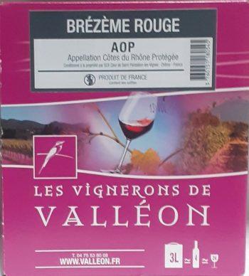 AOP Côtes du Rhône Brézème 3 litres