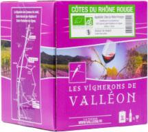 AOP Côtes du Rhône BIO 3L