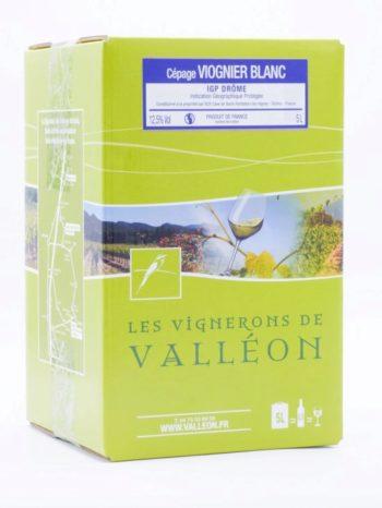 IGP Drôme Blanc Viognier 5L