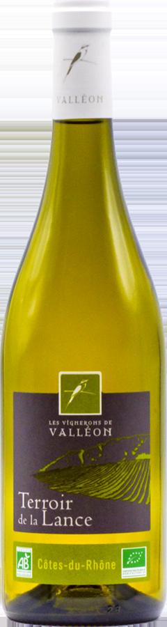 Terroir de la Lance Blanc Bio Côtes du Rhône 2019