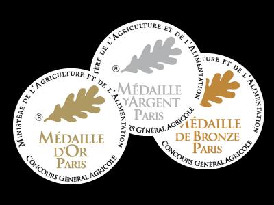 6 médailles au concours général de Paris 2020